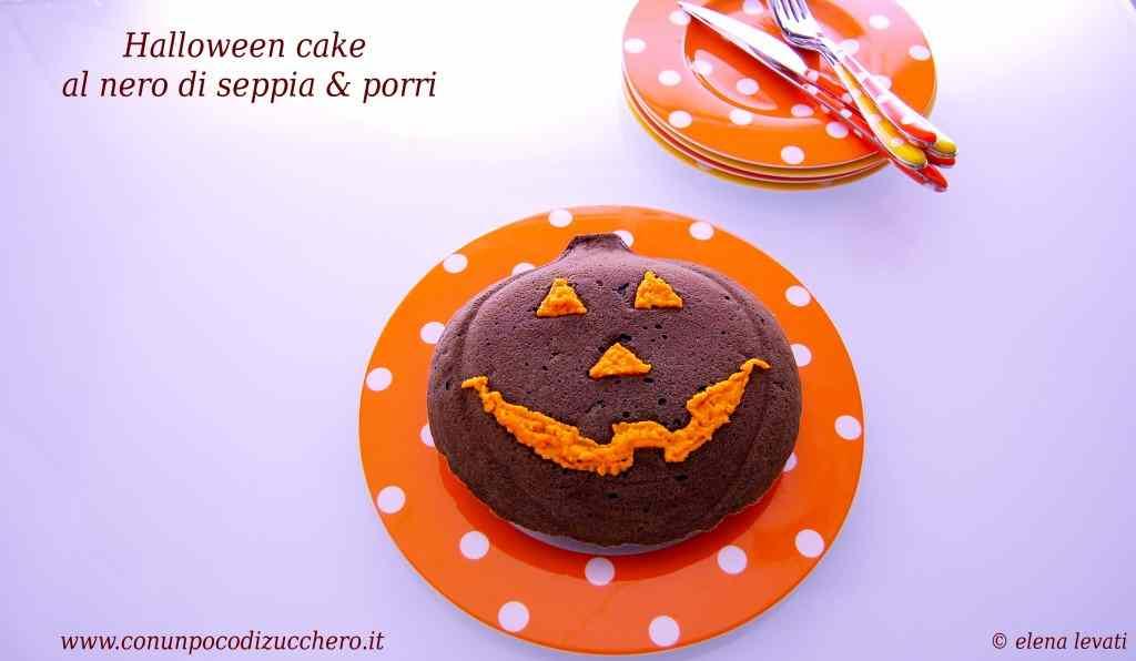 Ricetta: Sembra dolce ma non e..Halloween cake al nero di seppia