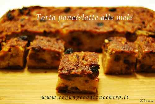 Ricetta: Coffee break: torta pane e latte alle mele