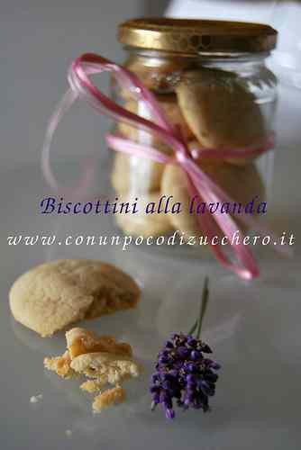 Ricetta: Biscottini alla lavanda