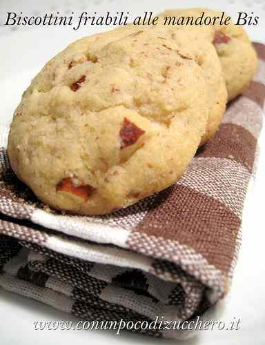 Ricetta: Biscottini friabili alle mandorle