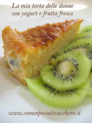 Ricetta: Torta allo yogurt e frutta fresca