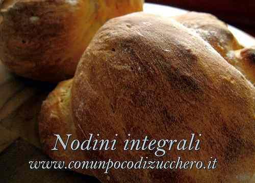 Ricetta: Nodini integrali