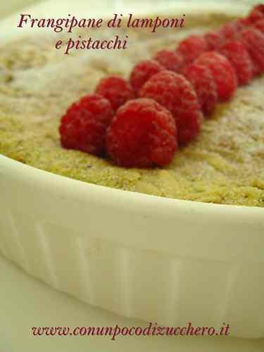 Ricetta: Crostata frangipane di lamponi e pistacchi
