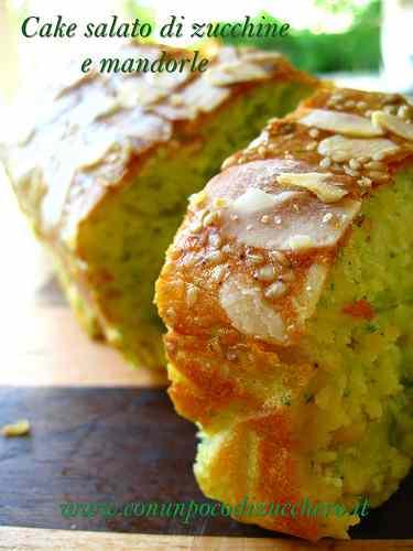 Ricetta: Cake salato di zucchine e mandorle