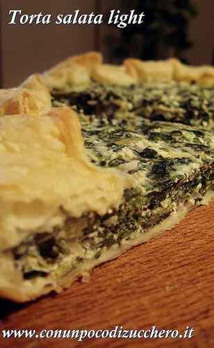 Ricetta: Torta salata light