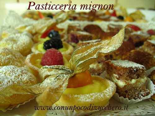 Ricetta: Pasticceria mignon