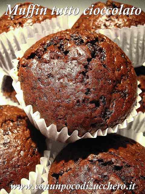 Ricetta: Muffin tutto cioccolato