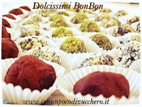 Ricetta: Bon Bon ai tartufini