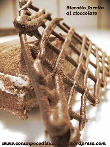 Ricetta: Biscotto farcito al cioccolato