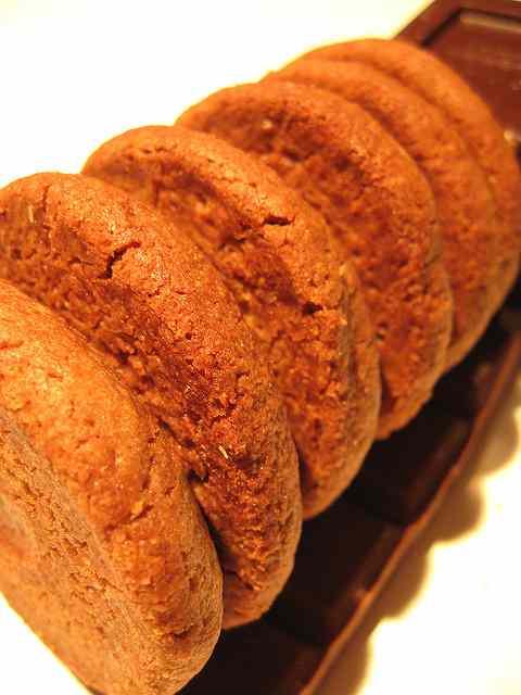 Ricetta: Biscotti integrali zenzero cacao