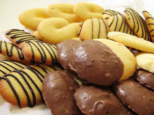 Ricetta: Biscottini variegati di frolla morbida