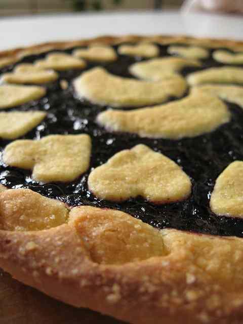 Ricetta: Crostata ai mirtilli