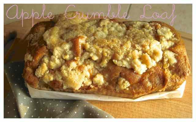 Ricetta: Apple Crumble Loaf
