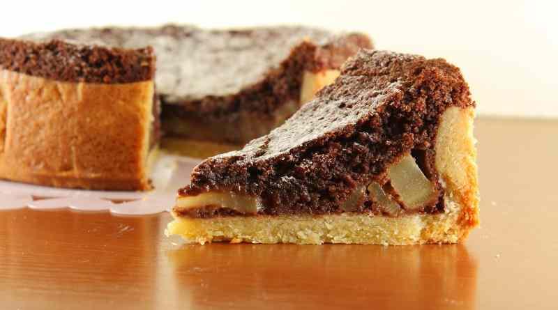 Ricetta: Crostata Morbida Pere e Cioccolato
