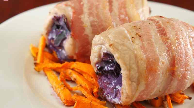 Ricetta: Involtini di Pollo Pancetta e Cavolo Viola