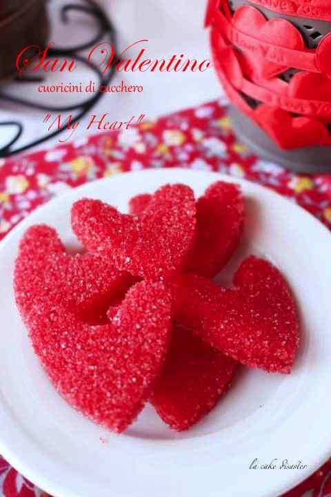 Ricetta: Cuoricini di zucchero colorati