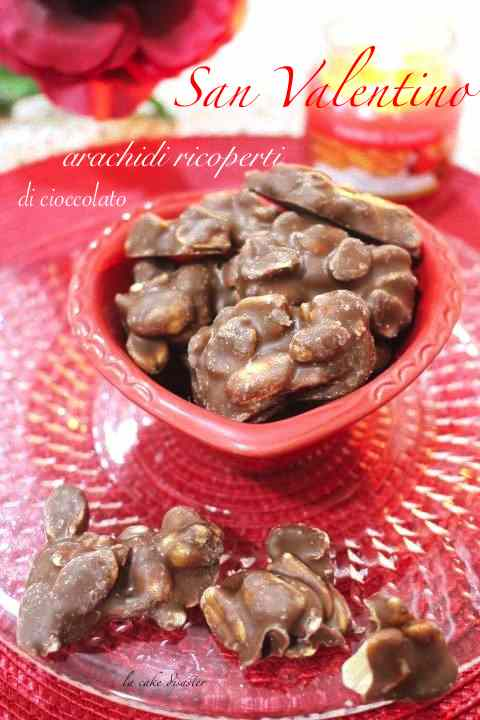 Ricetta: Arachidi ricoperte di cioccolato