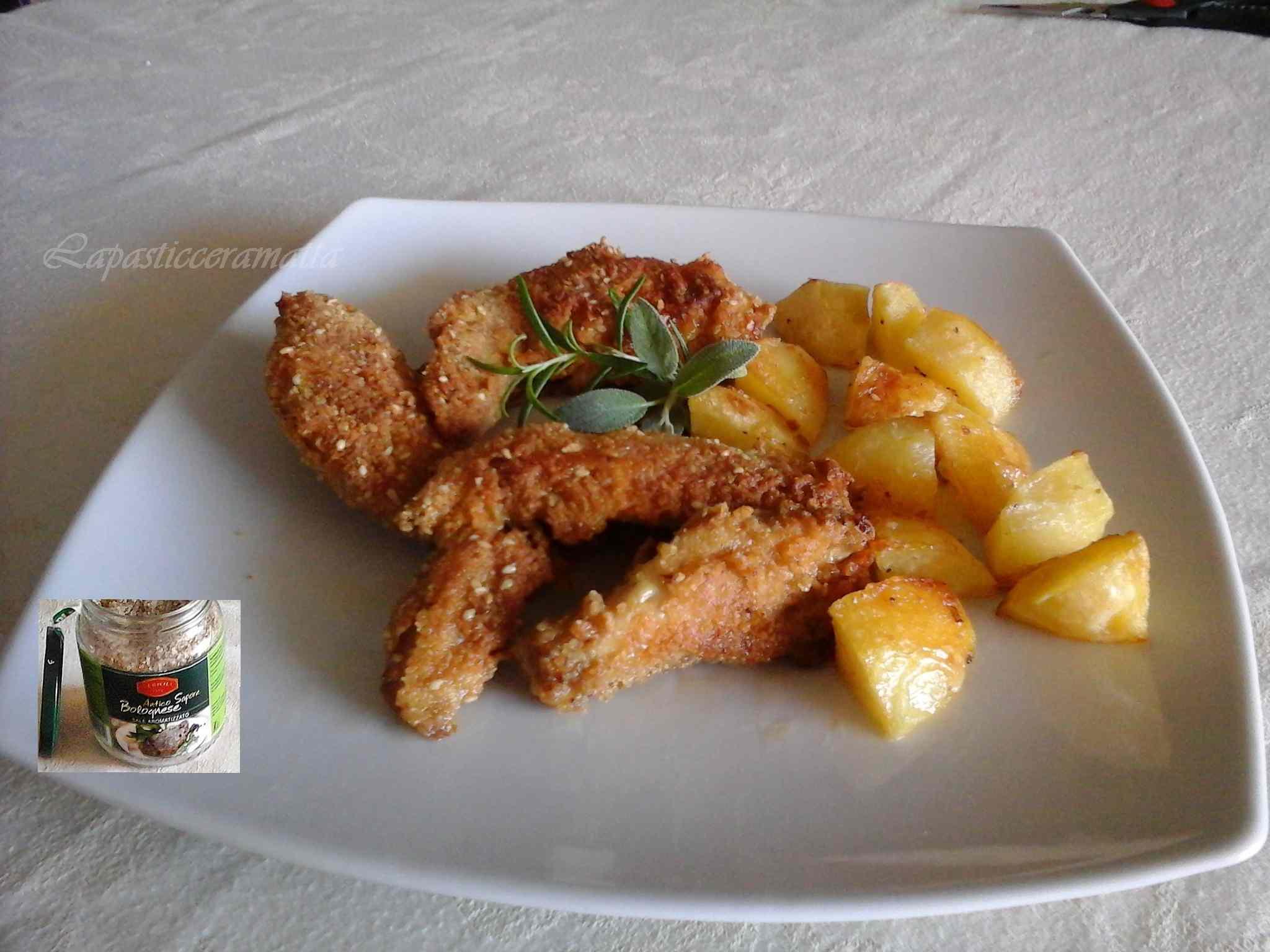 Ricetta: Ali di pollo saporite al forno