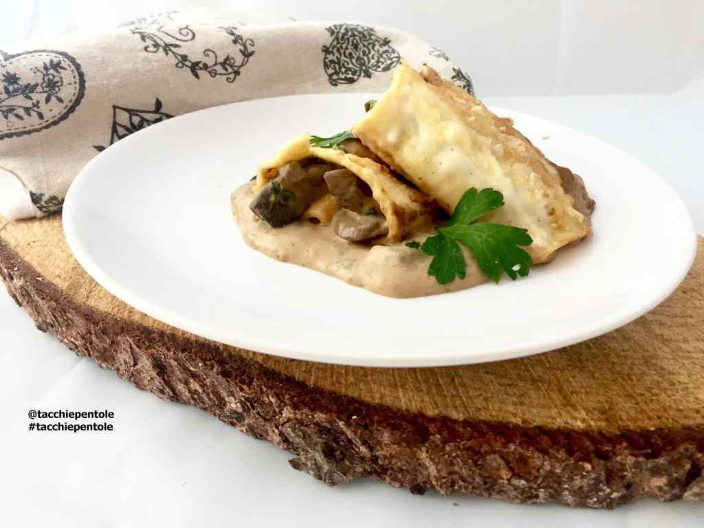 Ricetta: Crespelle ai funghi porcini
