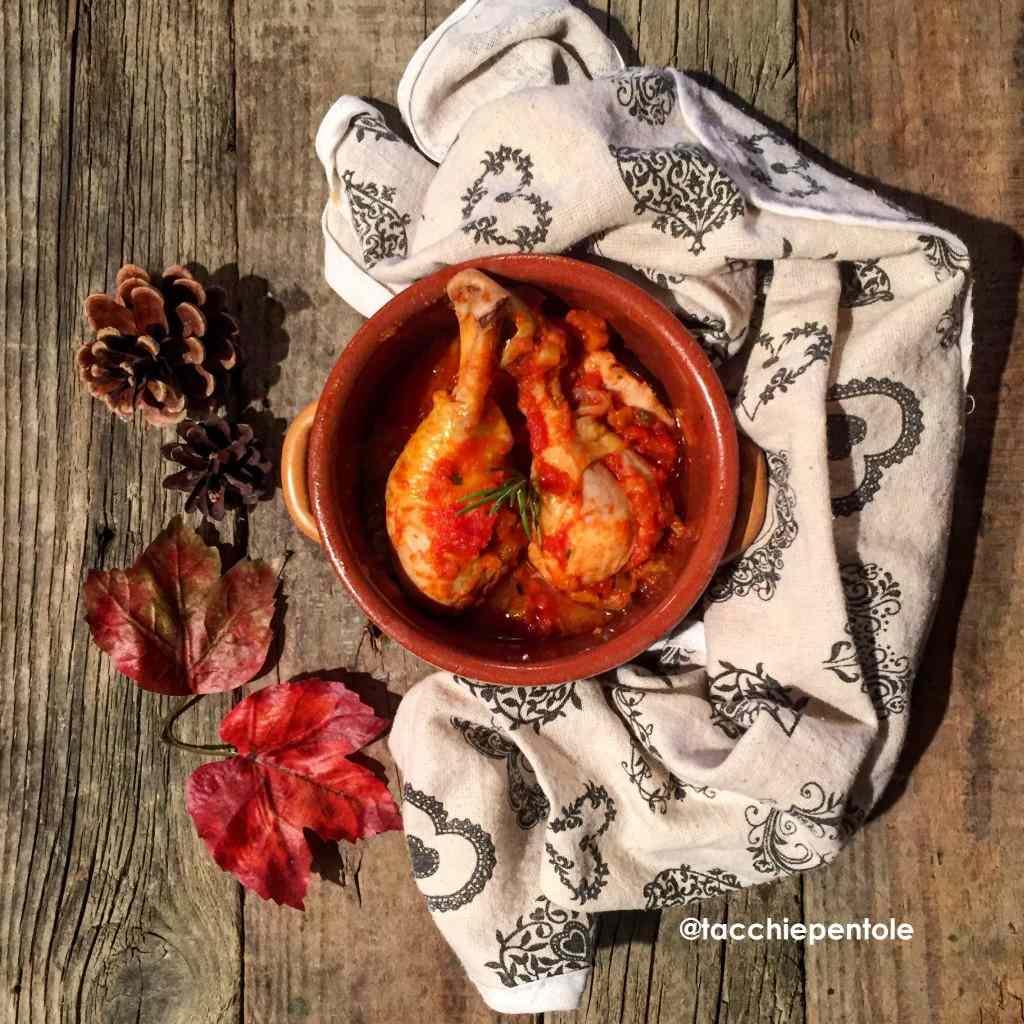 Ricetta: Cosce di pollo alla cacciatora