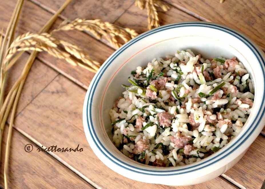 Ricetta: Riso alla pilota o riso e salsiccia ricetta tipica mantovana