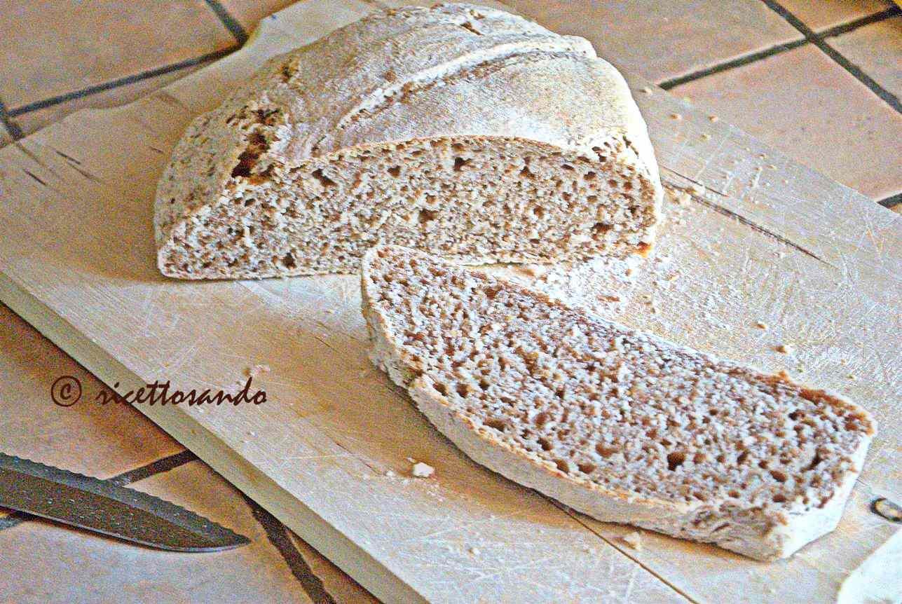 Ricetta: Pane integrale di grano tenero con lievito madre