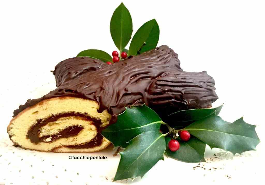 Ricetta: Tronchetto di Natale alla Nutella #facilissimo