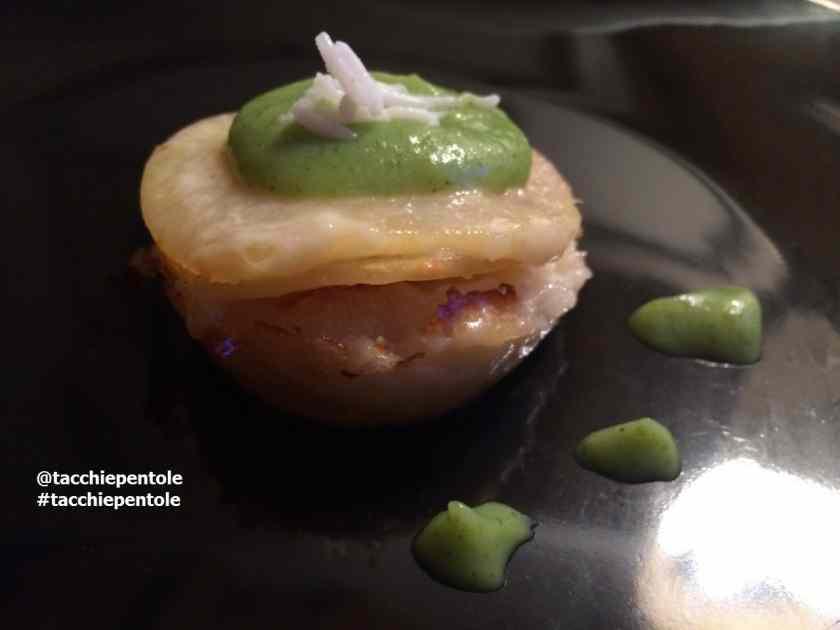 Ricetta: TORTINO DI PATATE E BASMATI con crema di spinaci