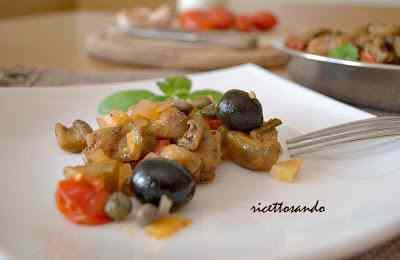 Ricetta: Caponata siciliana