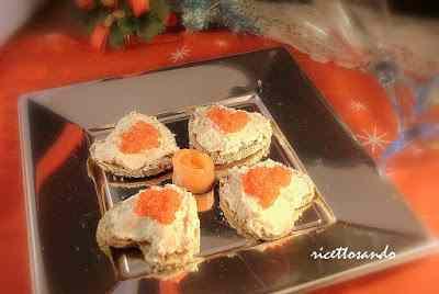 Ricetta: Bliny di grano saraceno con salmone e uova di lompo