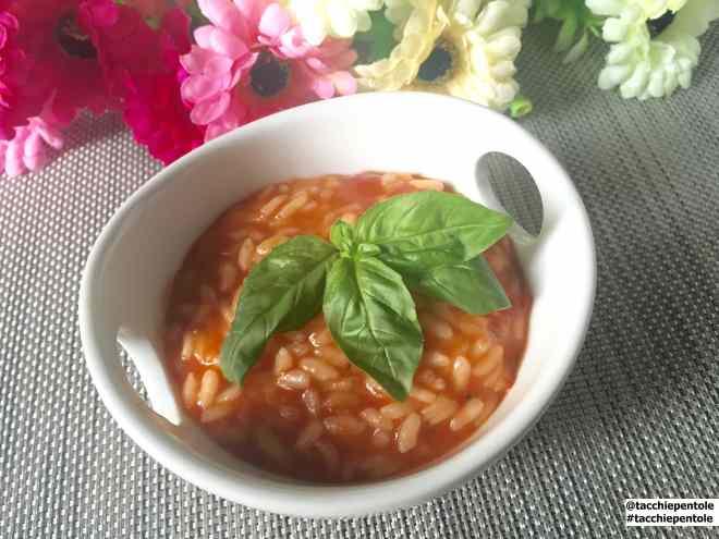 Ricetta: Risotto al pomodoro, ricetta della mia mamma