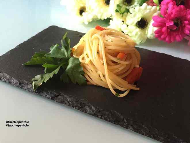 Ricetta: Spaghetti ai peperoni