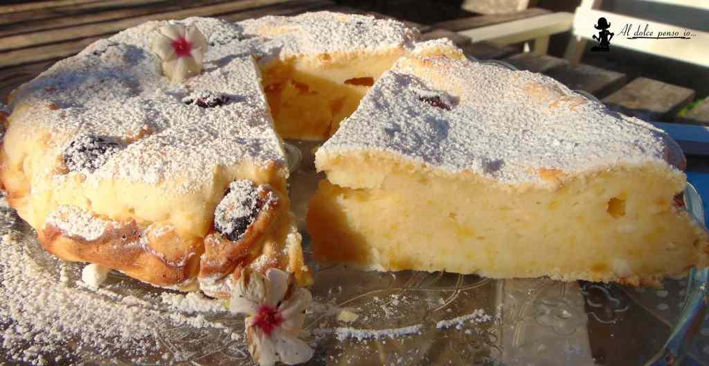 Ricetta: torta di ricotta al limone