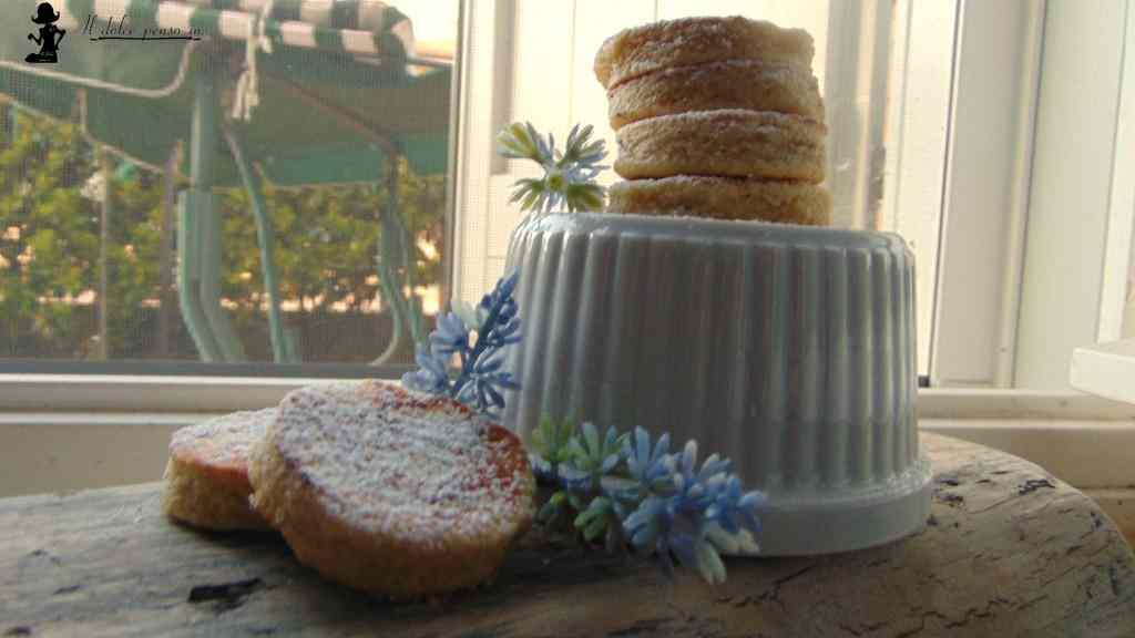biscotti alla lavanda in padella