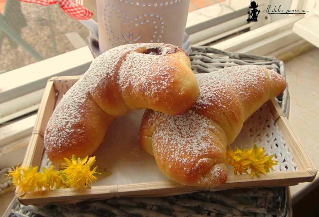 Ricetta: cornetti di pan brioche