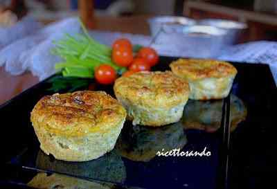 Ricetta: Flan di pancetta e verdure