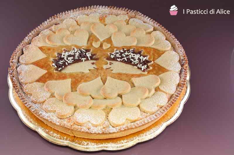 Ricetta: Crostata Cioccolato Ricotta e Amaretti