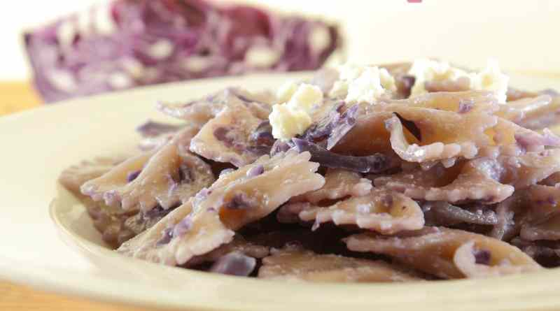 Ricetta: Pasta Cremosa al Cavolo Viola