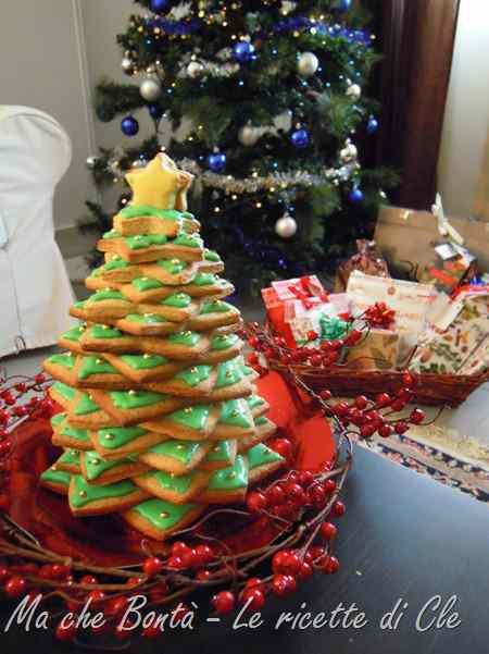 Ricetta: Albero di natale in pan di zenzero (gingerbread christmas tree)