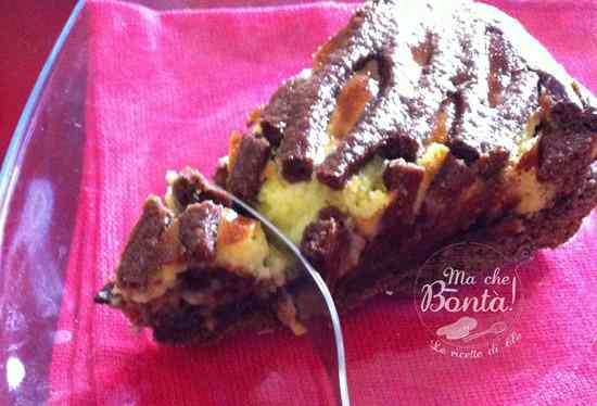 Ricetta: Torta deliziosa (Nutella and custard tarte)