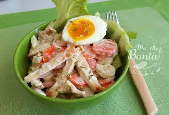 Ricetta: Insalata di pollo e carote - Carrot and chicken salad