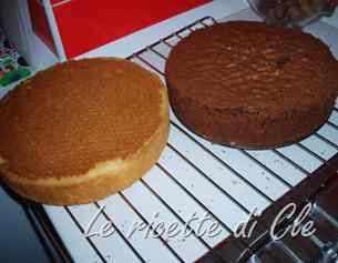 Ricetta: Pan di spagna bianco e al cacao