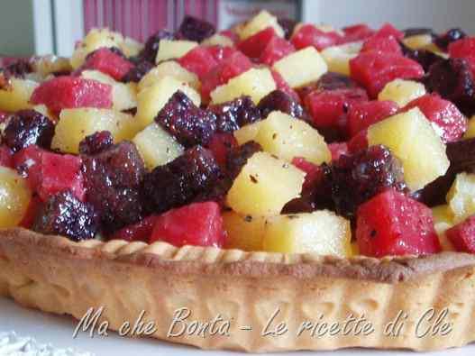 Ricetta: Crostata con gelatine di frutta di luca montersino