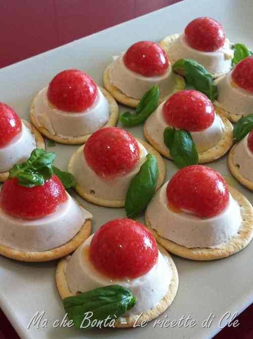 Ricetta: Freschezza estiva (tuna and tomato fingerfood)