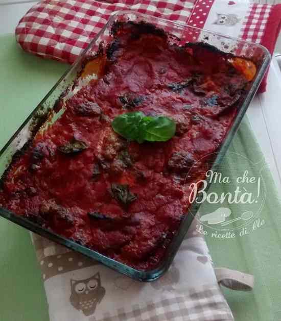 Ricetta: Sua maesta: la parmigiana di melanzane (her majesty aubergine, tomato  parmesan bake)