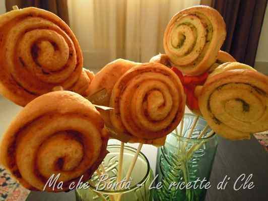 Ricetta: Girelle alla mozzarella (mozzarella rolls)