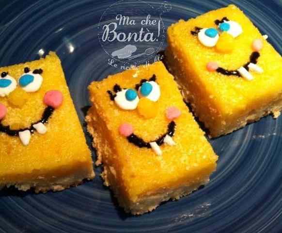 Ricetta: SpongeBob Lemon Bars