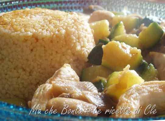 Ricetta: Cous cous con verdure piccanti e pollo