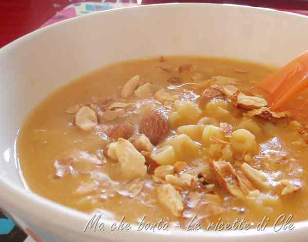 Ricetta: Crema di lenticchie rosse e mandorle