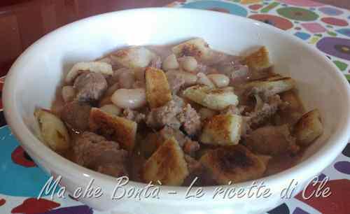 Ricetta: Zuppa di fagioli di cle